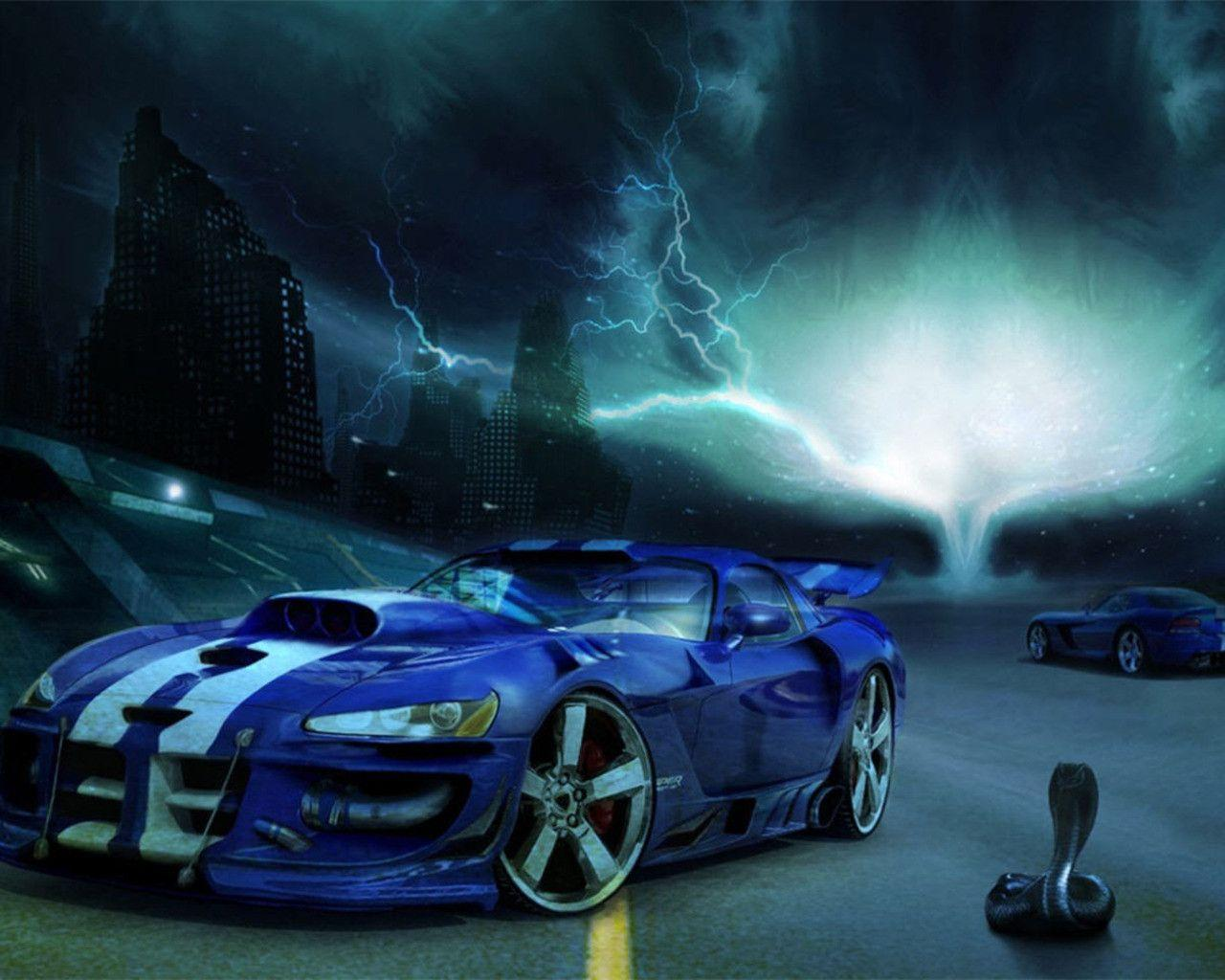 Imagenes De Autos Para Fondo De Pantalla En 3d: Dodge Viper Wallpapers