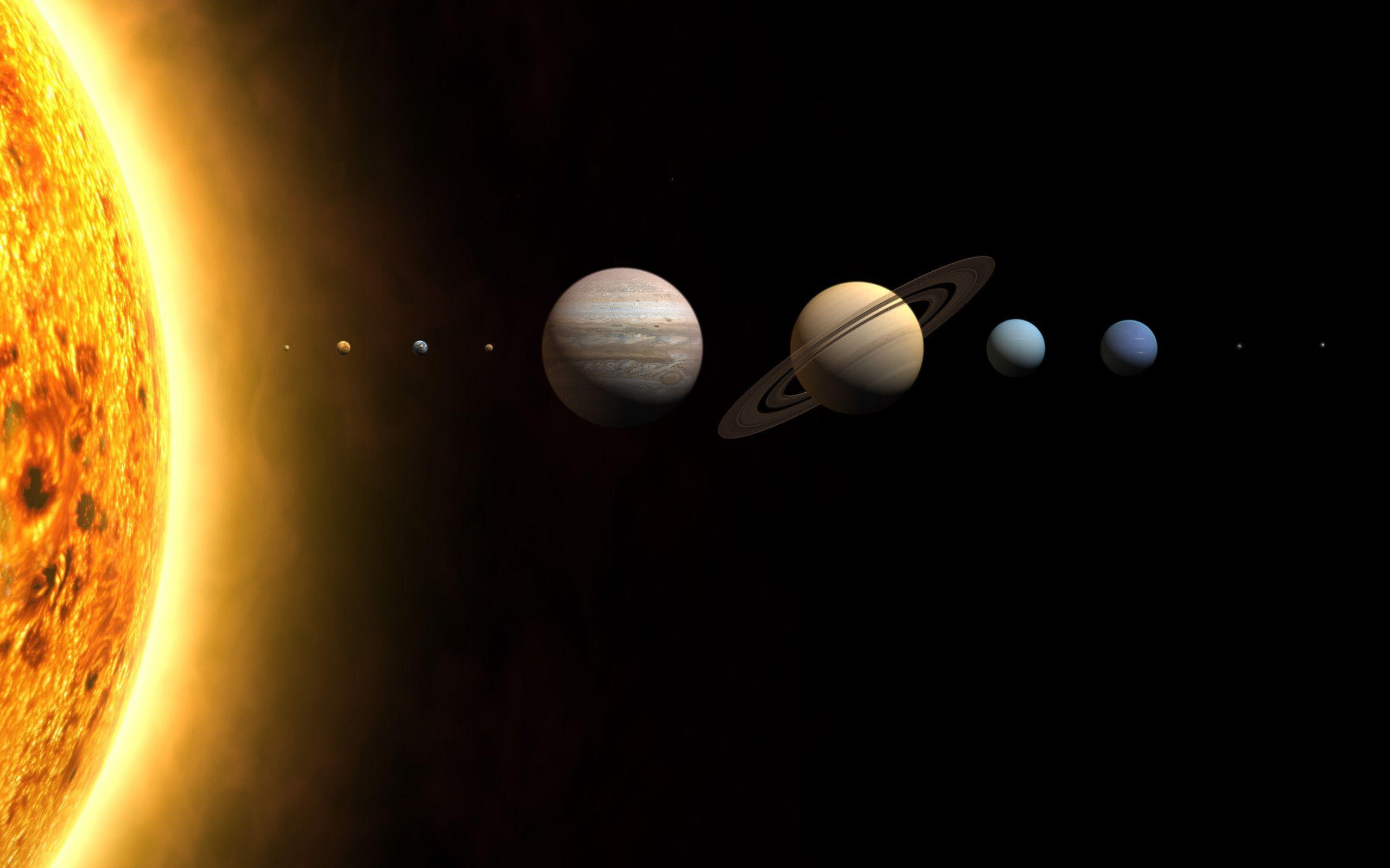 5 Solar System Wallpapers | Solar System Backgrounds
