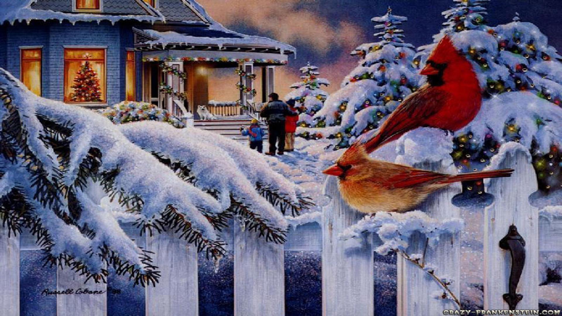 free wallpaper christmas scenes - photo #12