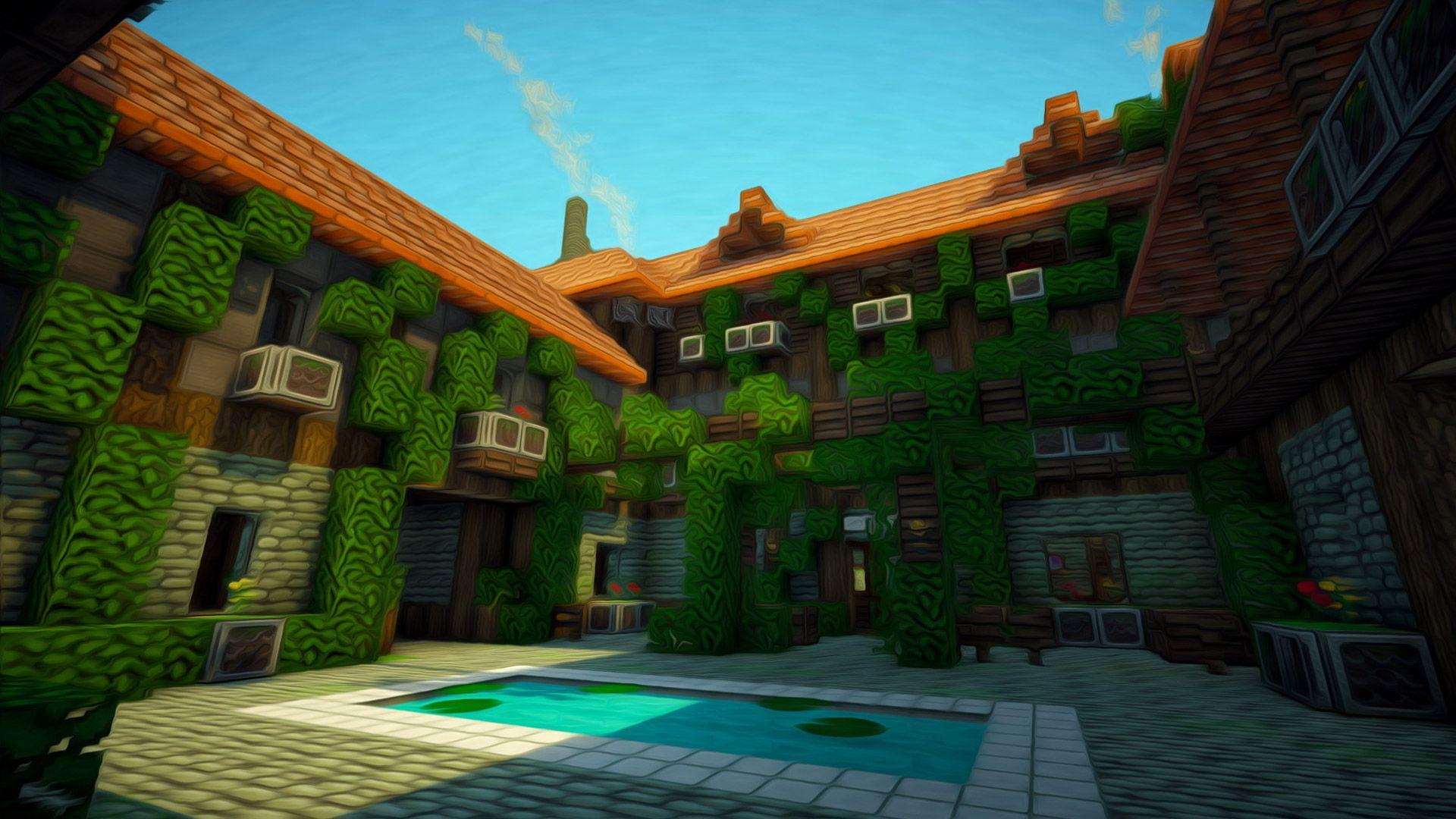 Hd Game Wallpapers 1080P Minecraft Backgrounds 1 HD Wallpapers