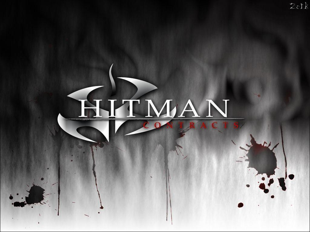 HitMan Silencer logo wallpaper
