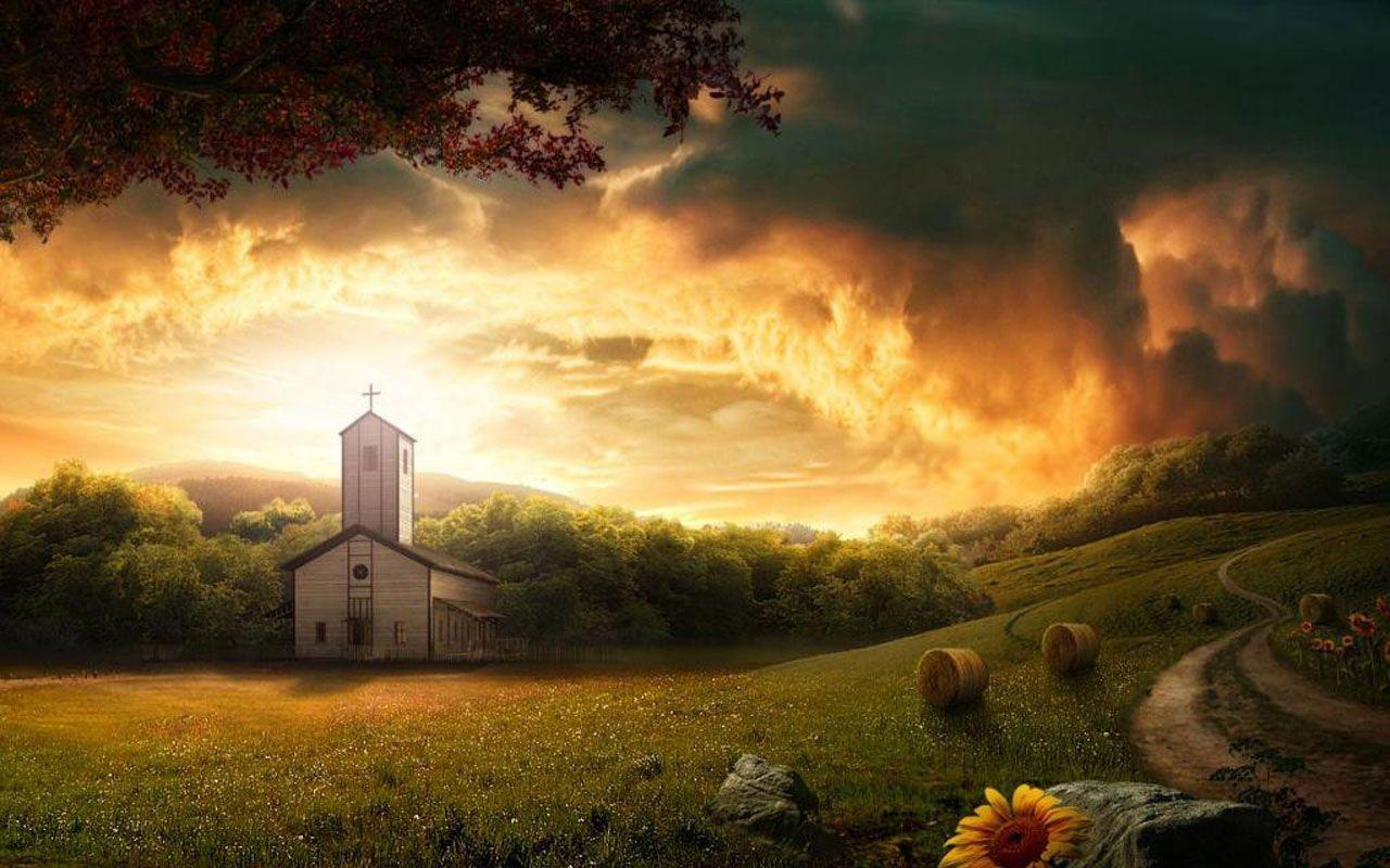 Country Church wallpapers & backgrounds