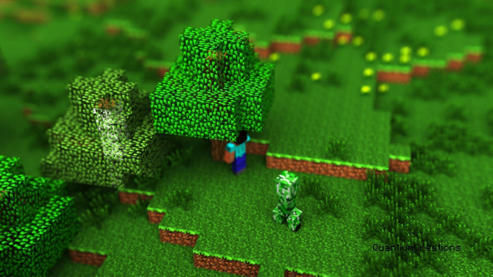 wallpaper hd minecraft green - photo #13