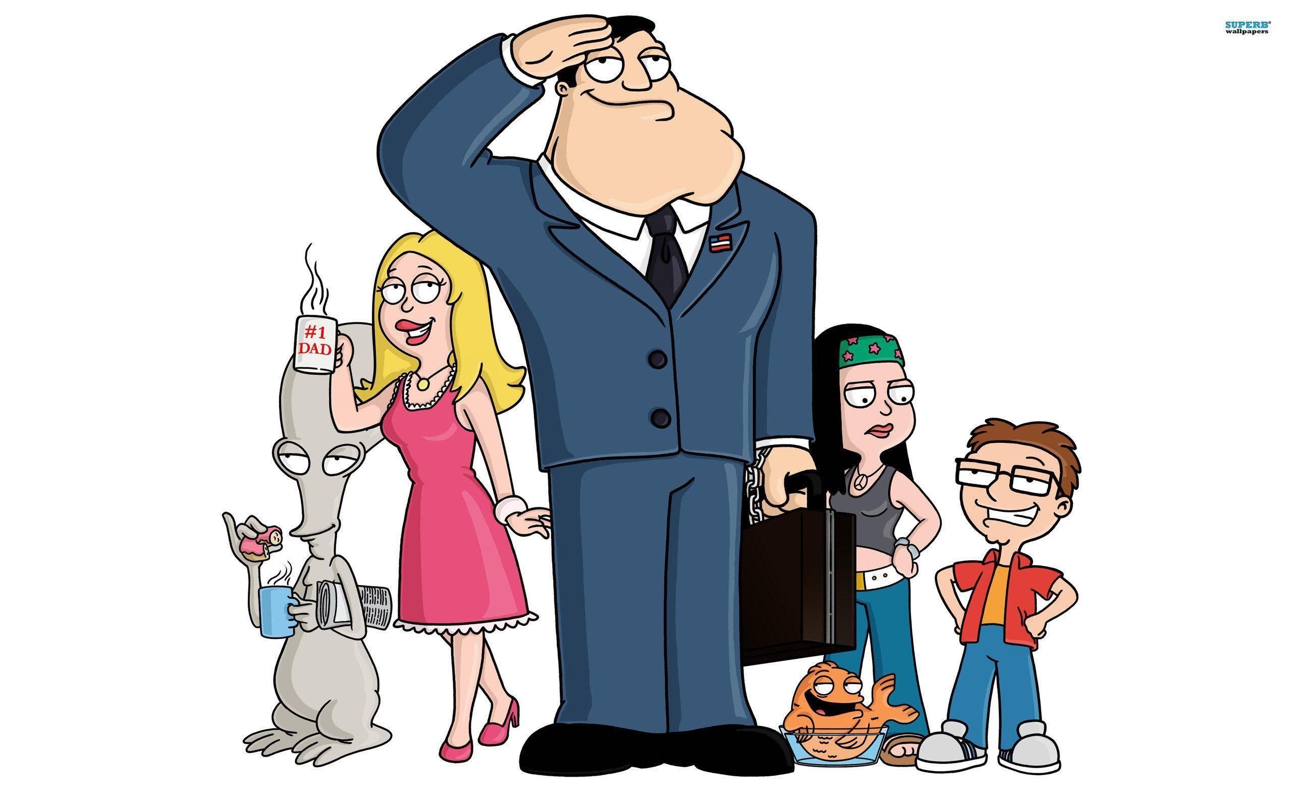 American Dad Hd Wide Wallpaper 39934 in Movies - Telusers.com