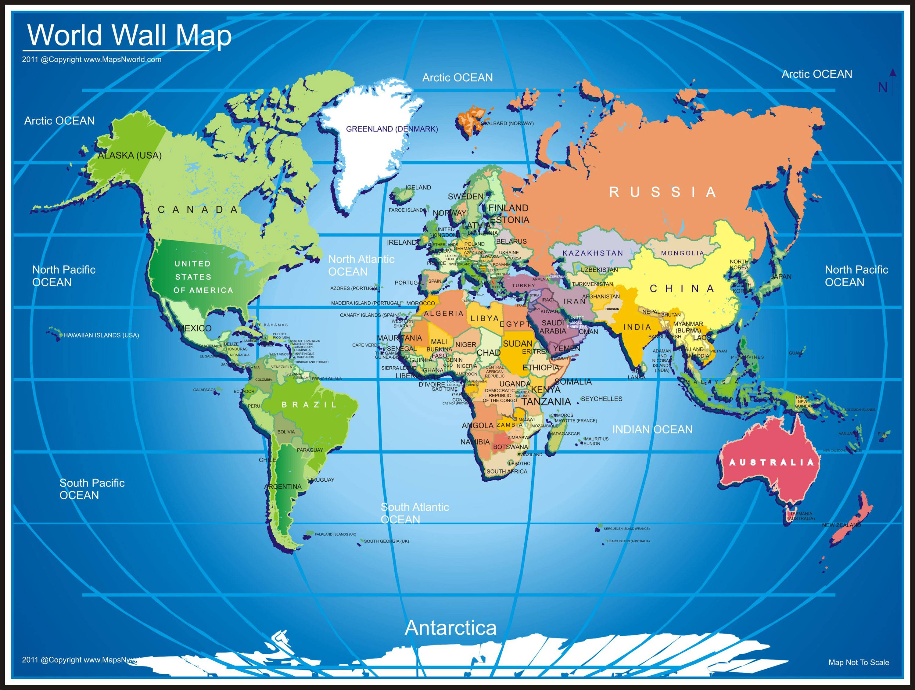 Wallpapers For U003e Cute World Map Desktop Wallpaper