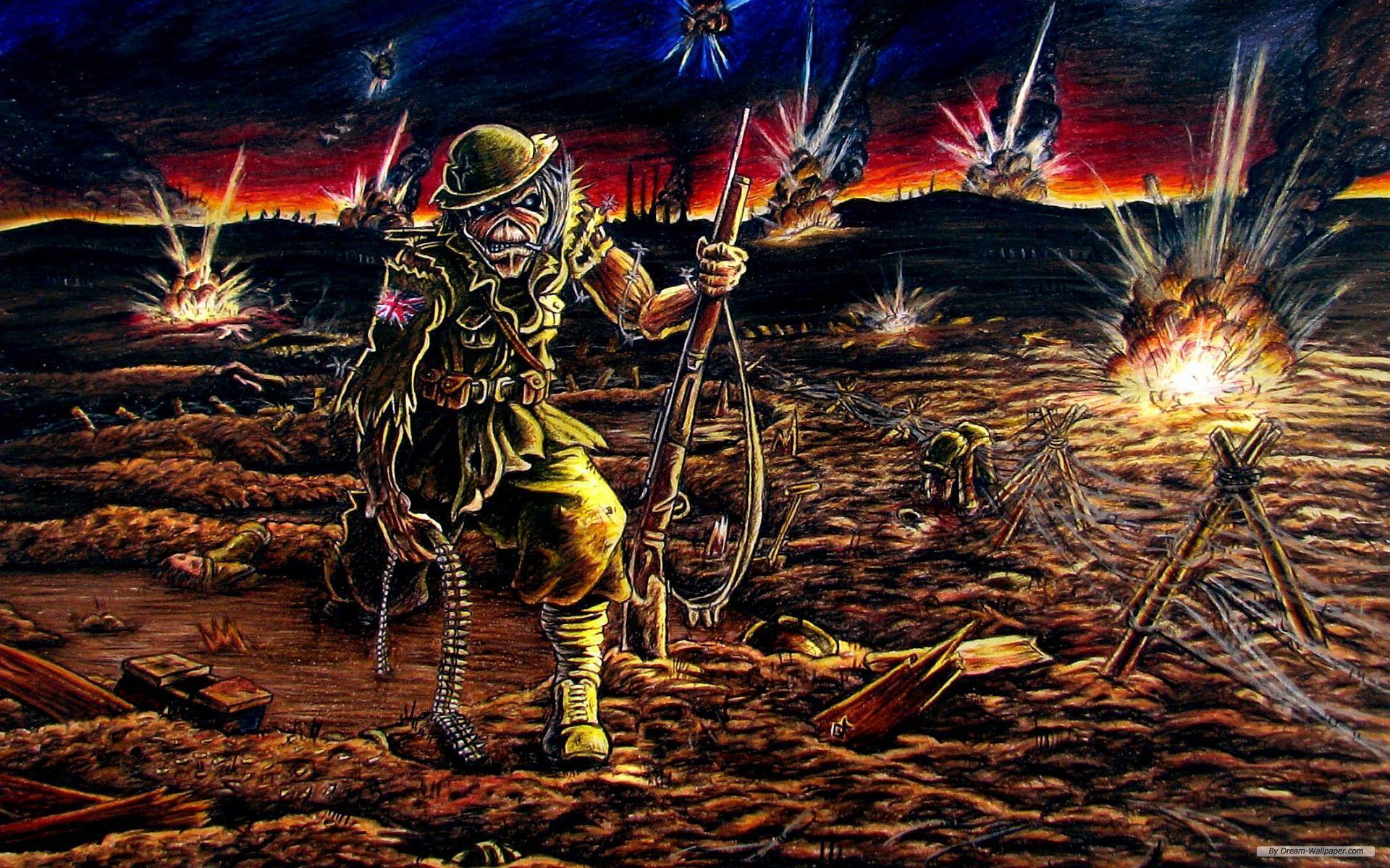 Iron Maiden Backgrounds - Wallpaper Cave