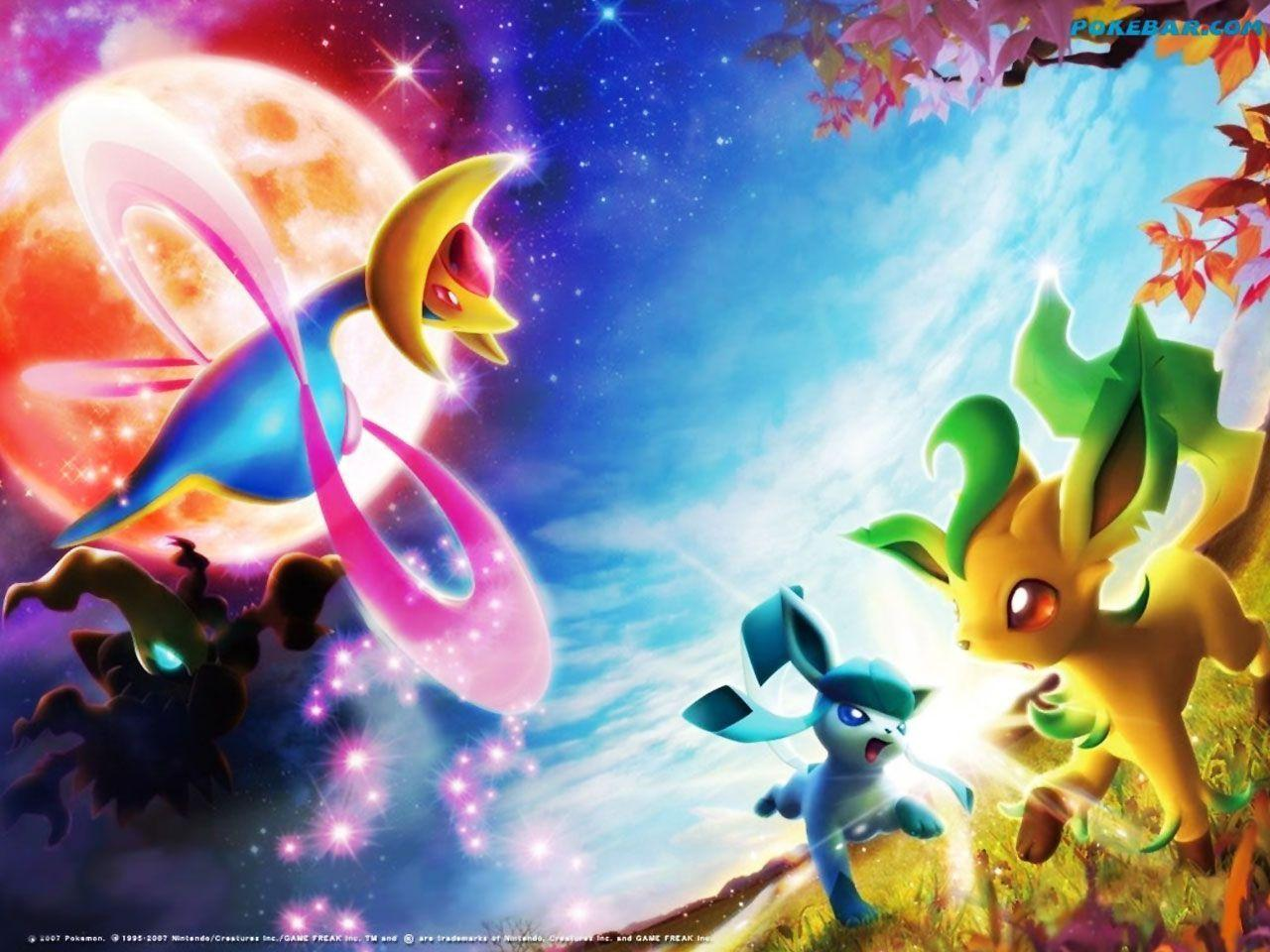 Pokemon Eevee Wallpapers Wallpaper Cave