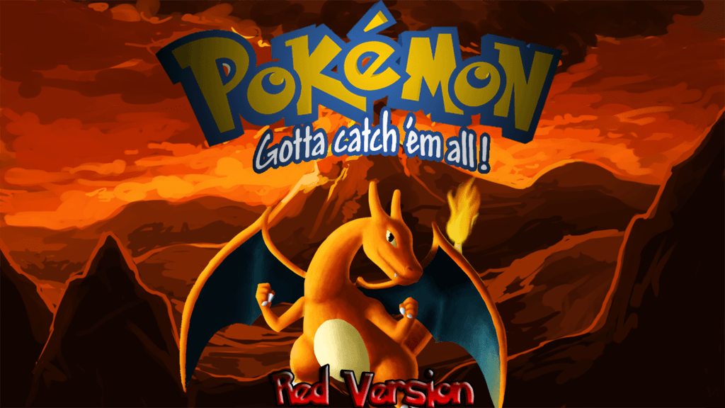 Pokemon Red Version Wallpapers by JanetAteHer
