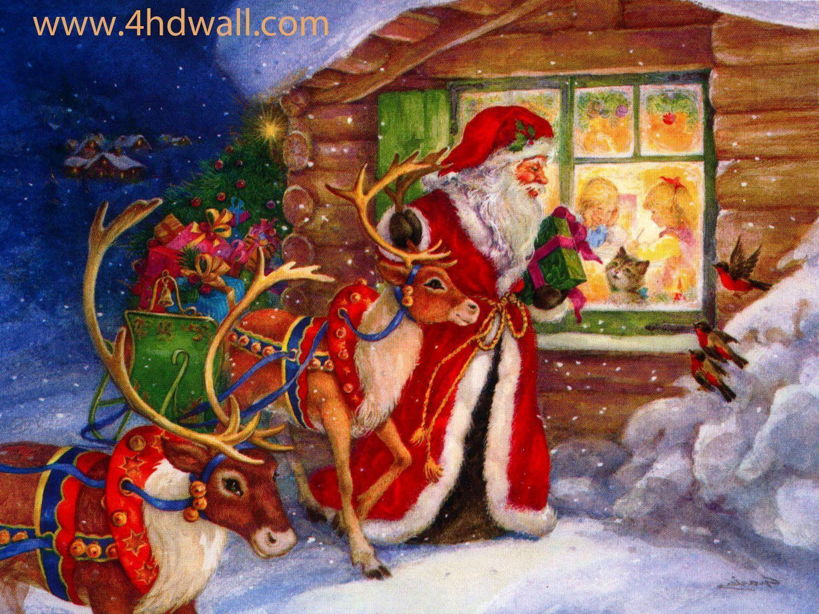 free funny christmas wallpapers