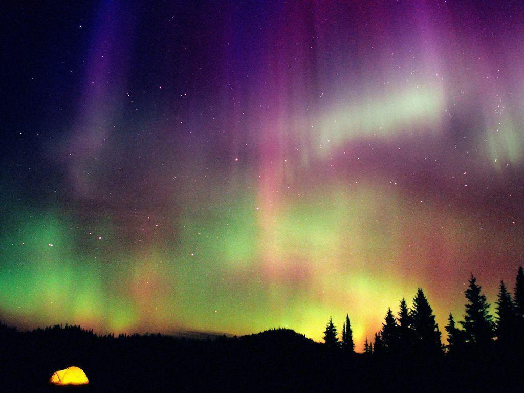 purple aurora borealis wallpapers x - photo #19