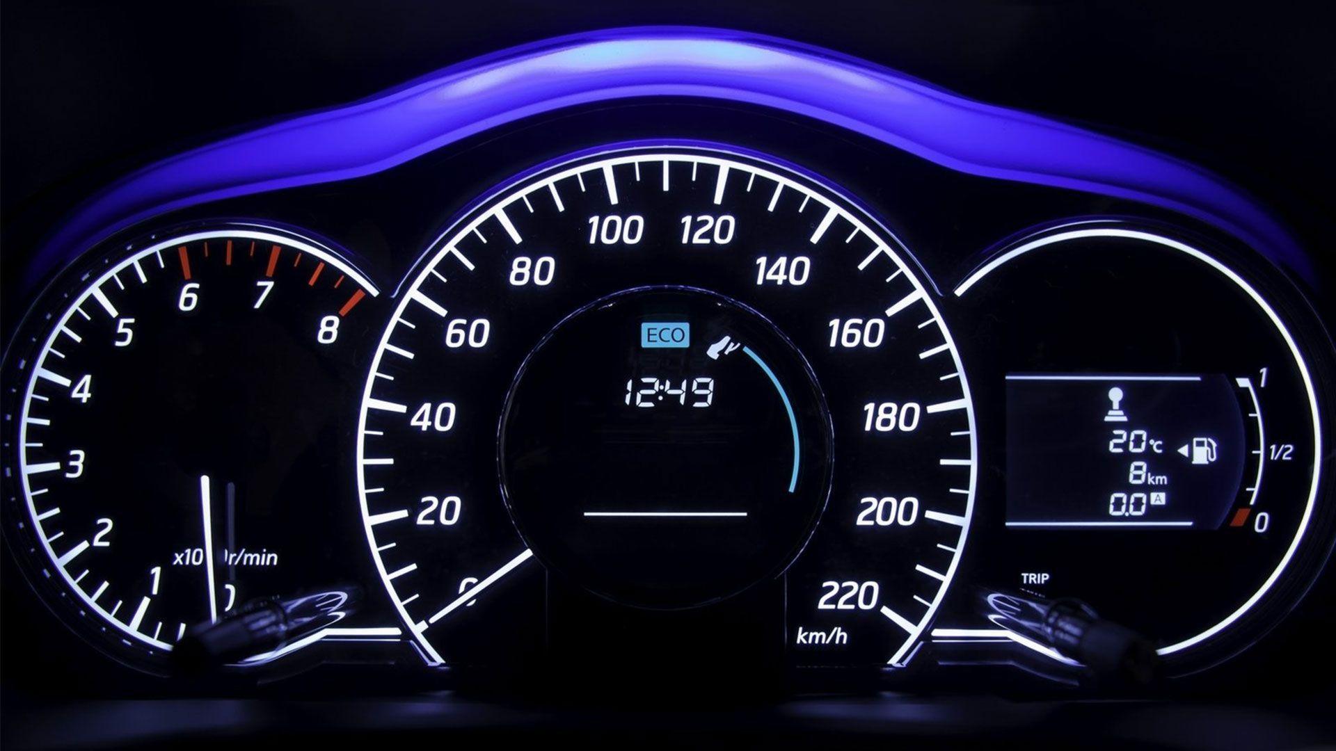 speedometer keren bergerak