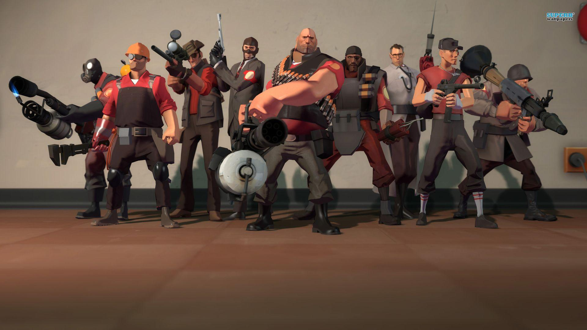 Fonds d&Team Fortress 2 : tous les wallpapers Team Fortress 2