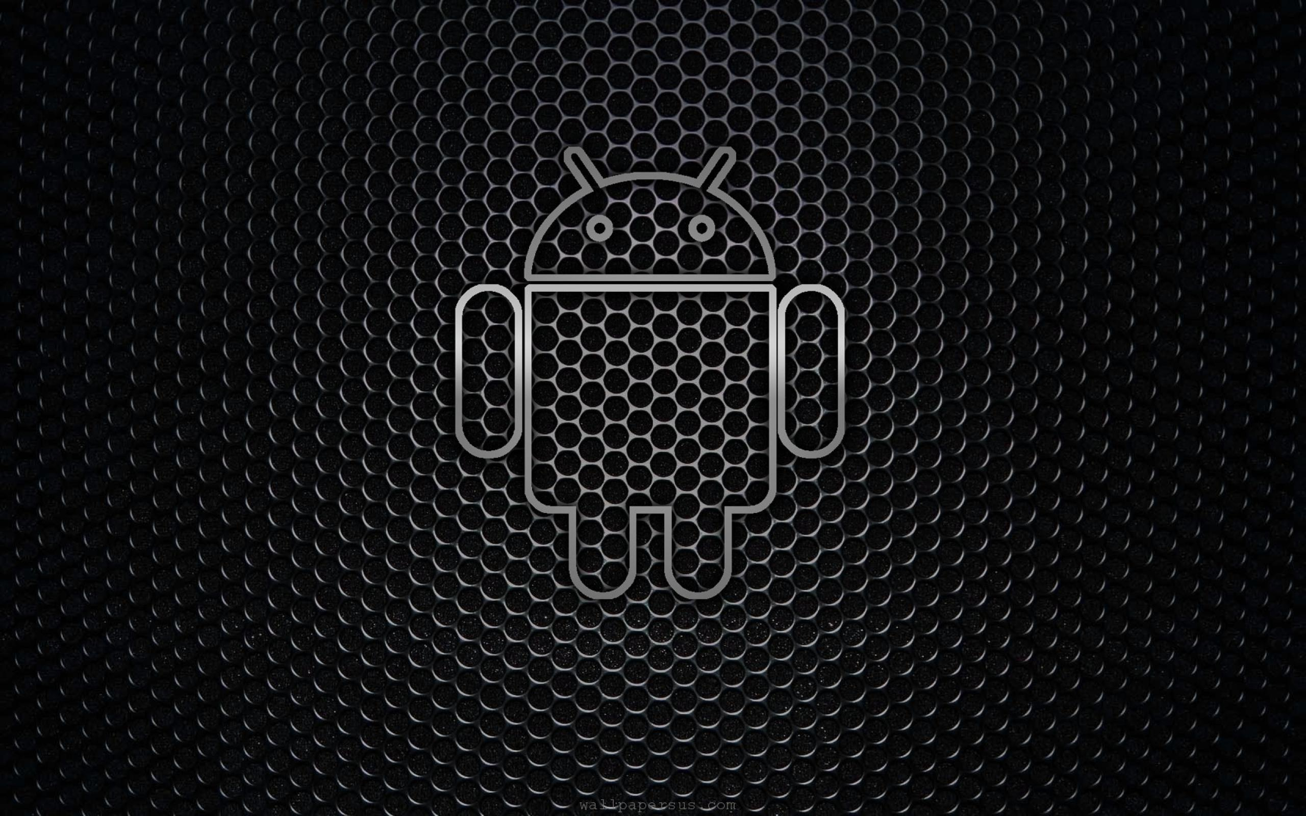 Desktop android black logo backgrounds wallpapers