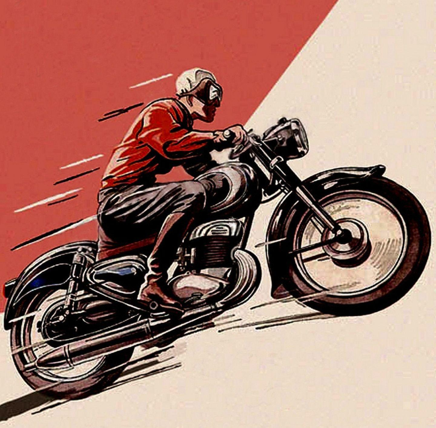 Vintage Motorcycle Wallpapers