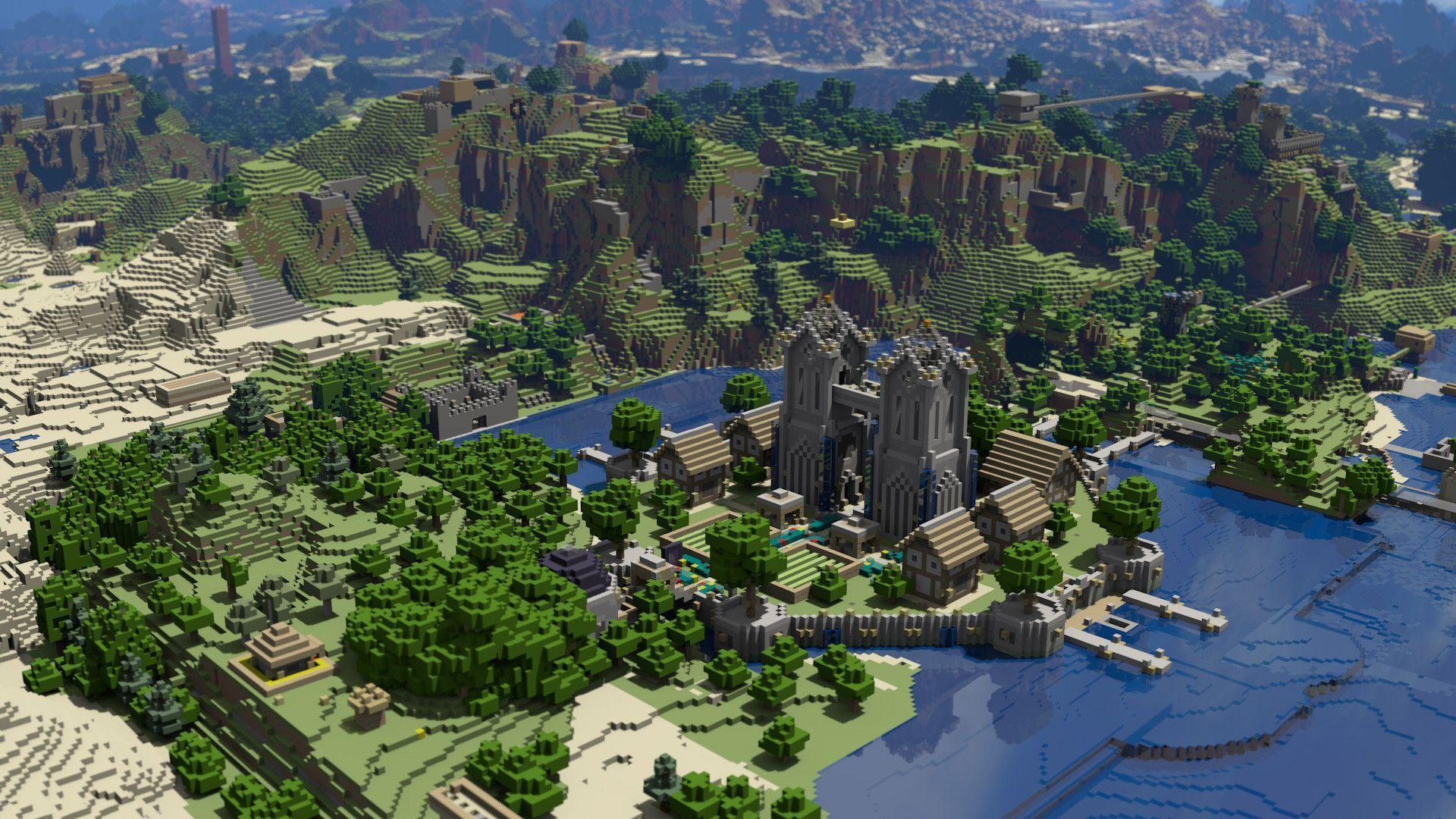 Minecraft Img For > Minecraft Wallpapers Hd 1920x1080