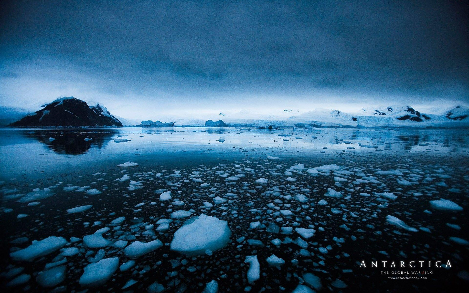 antarctica and clouds wallpaper - photo #20