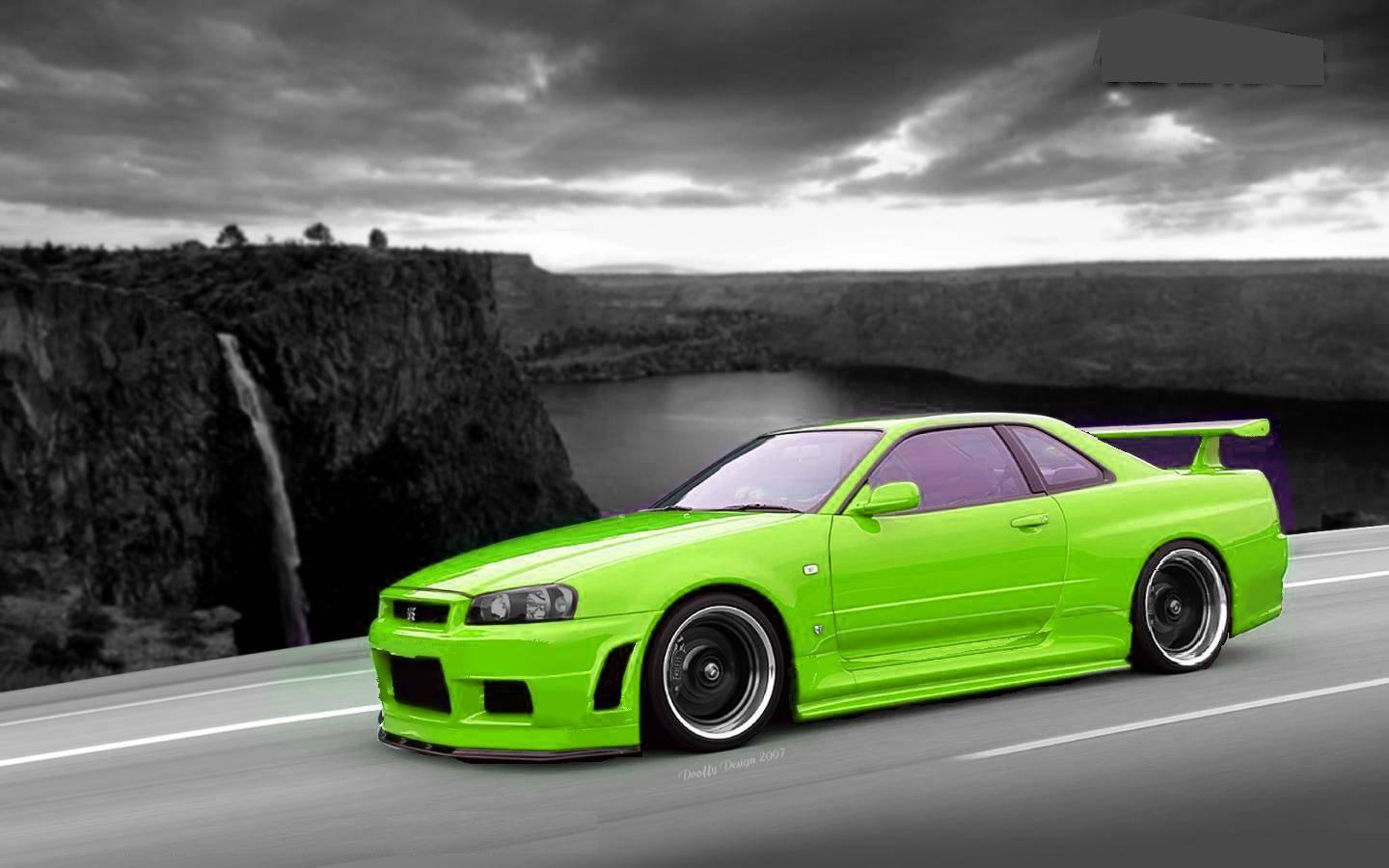 Nissan Skyline R34 Wallpapers Wallpaper Cave