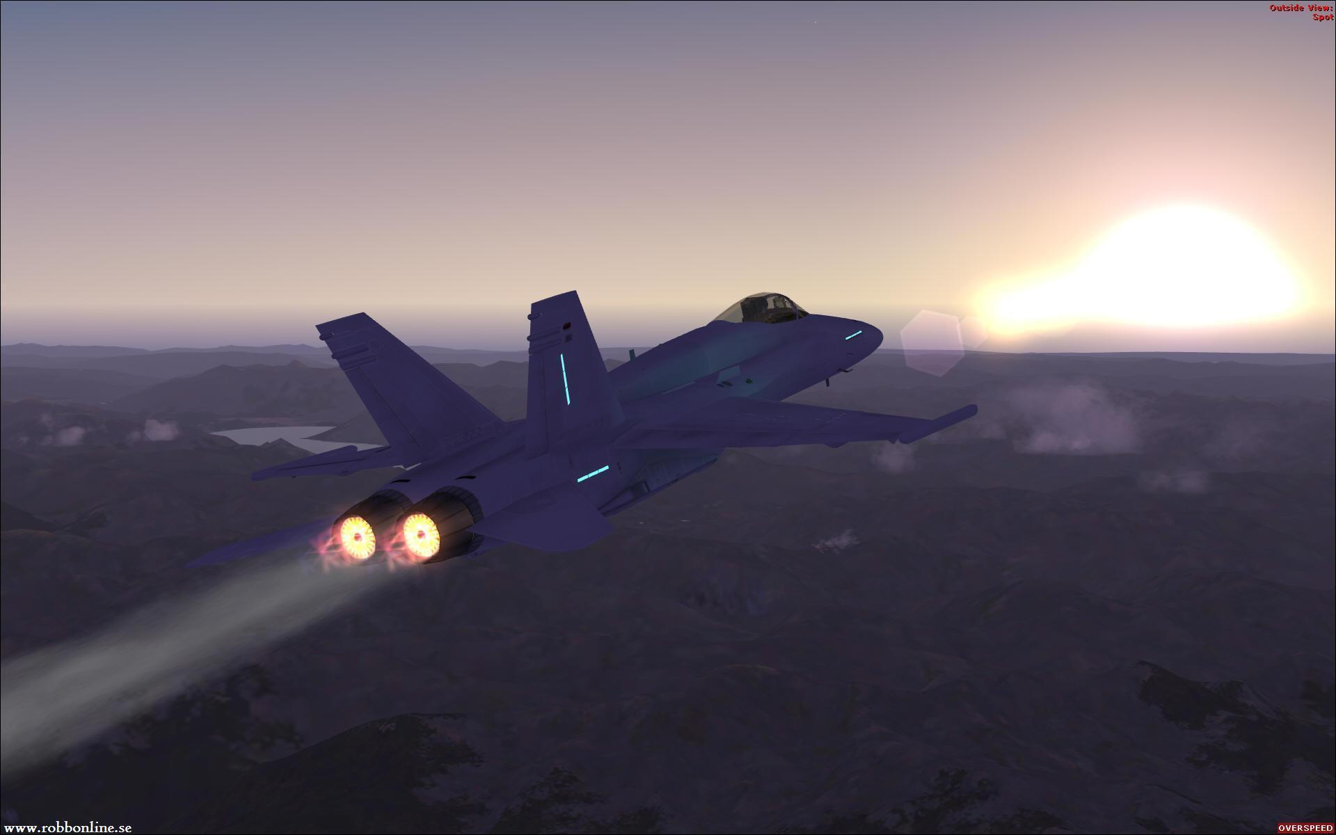 Flight Simulator X Wallpaper: F 18 Wallpapers