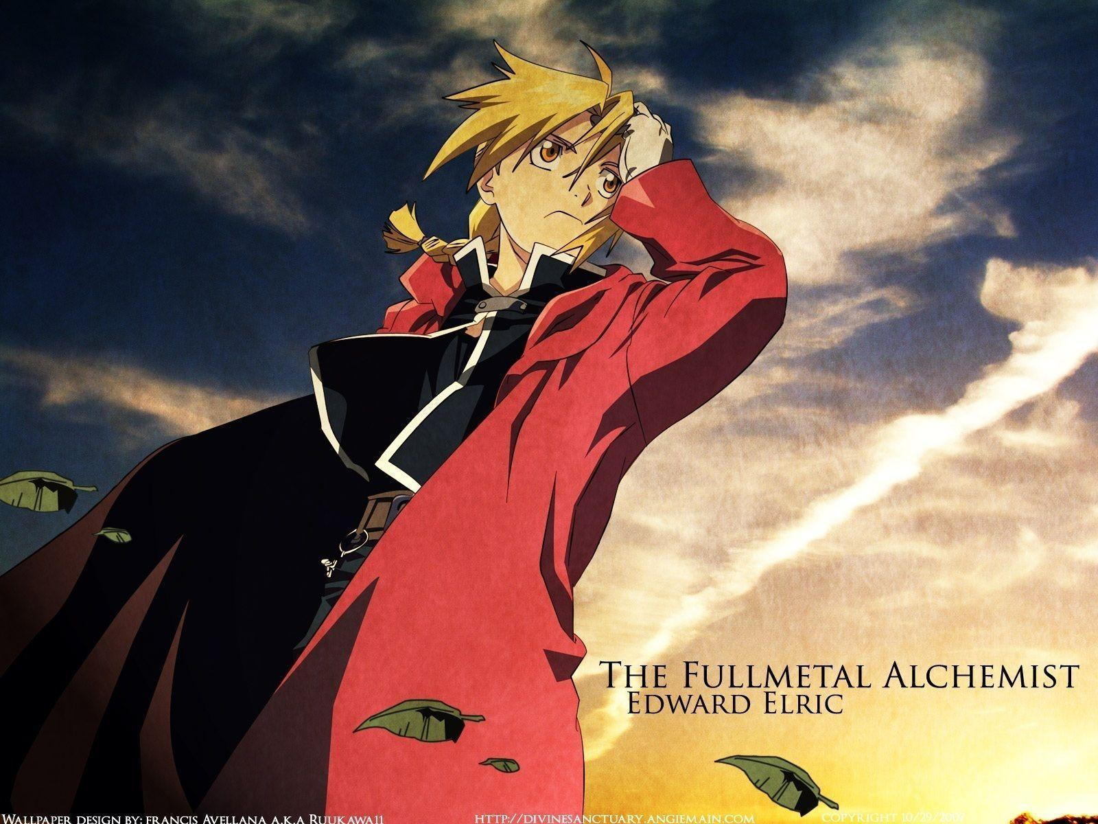 Edward Elric Wallpapers Wallpaper Cave