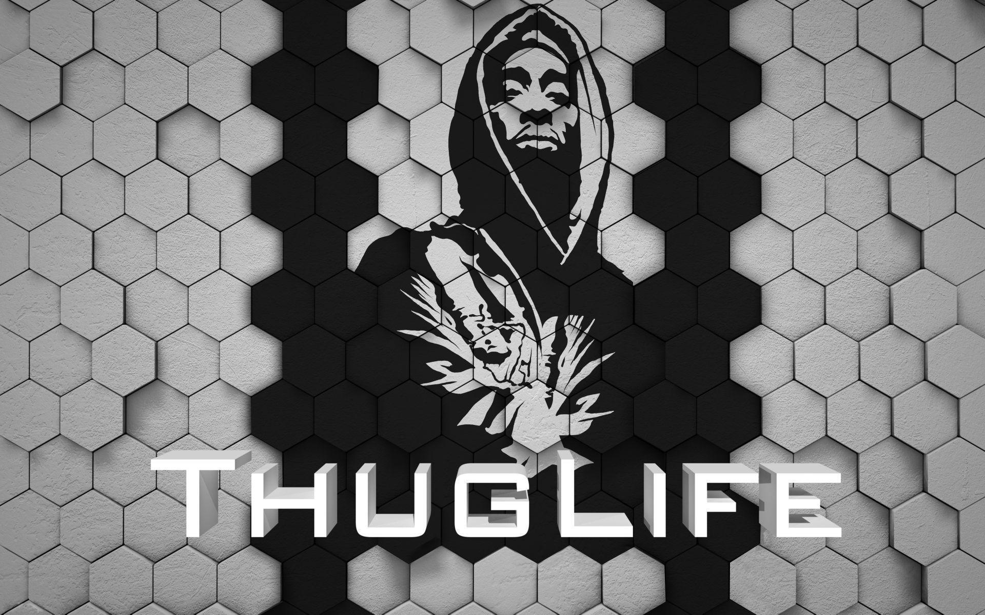 Images For Tupac Thug Life Wallpaper