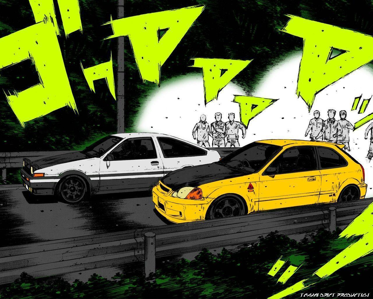 Image For > Initial D Takumi Wallpapers