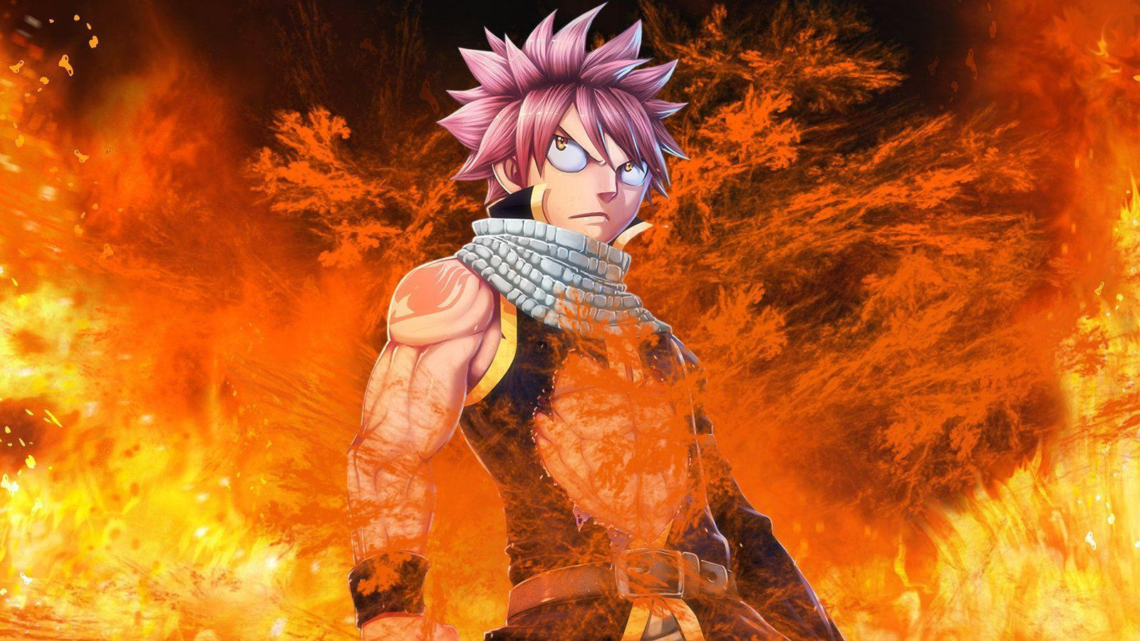Fairy Tail Natsu Wallpapers Wallpaper Cave