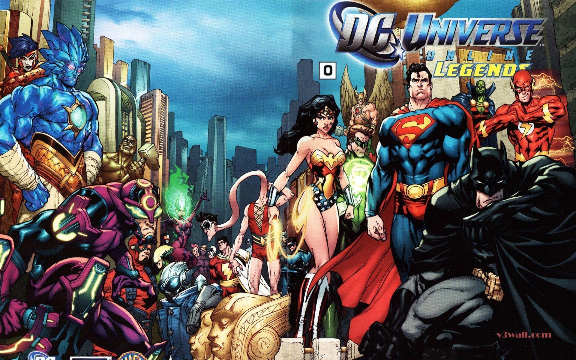DC Universe Wallpapers - Wallpaper Cave