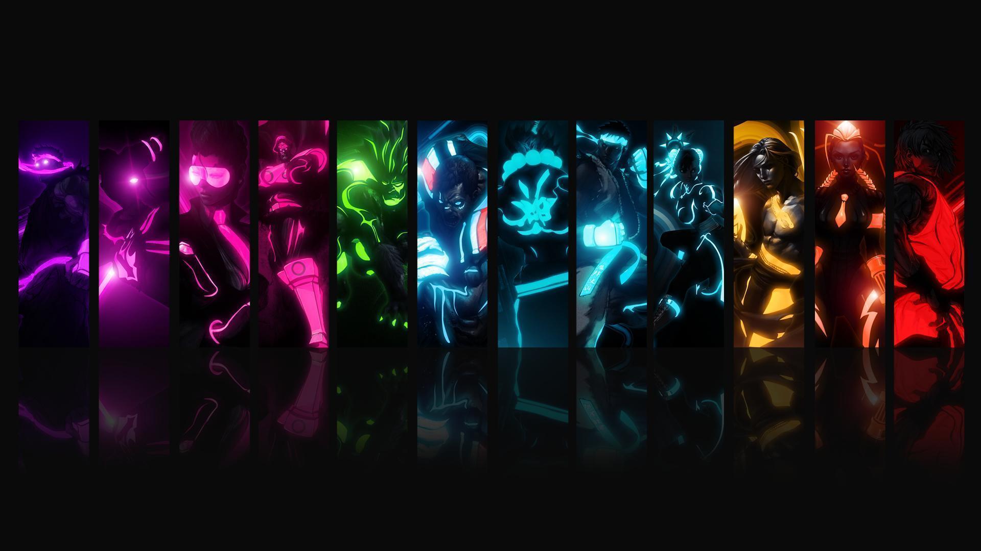 Neon Backgrounds For Desktop - Wallpaper Cave