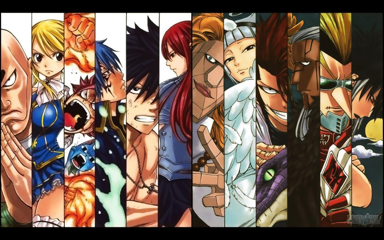 Fairy Tail Computer Wallpapers, Desktop Backgrounds 1280x800 Id