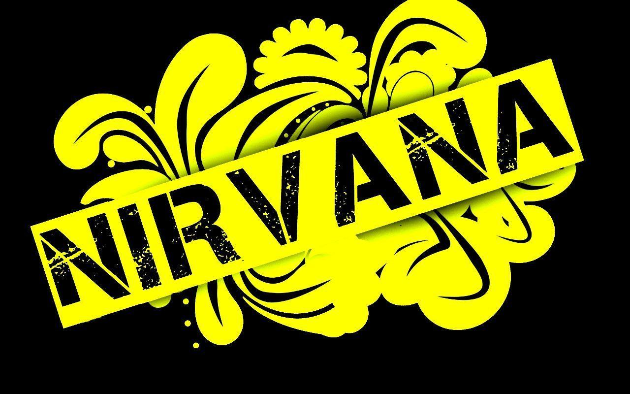 Nirvana Logo Wallpapers Wallpaper Cave