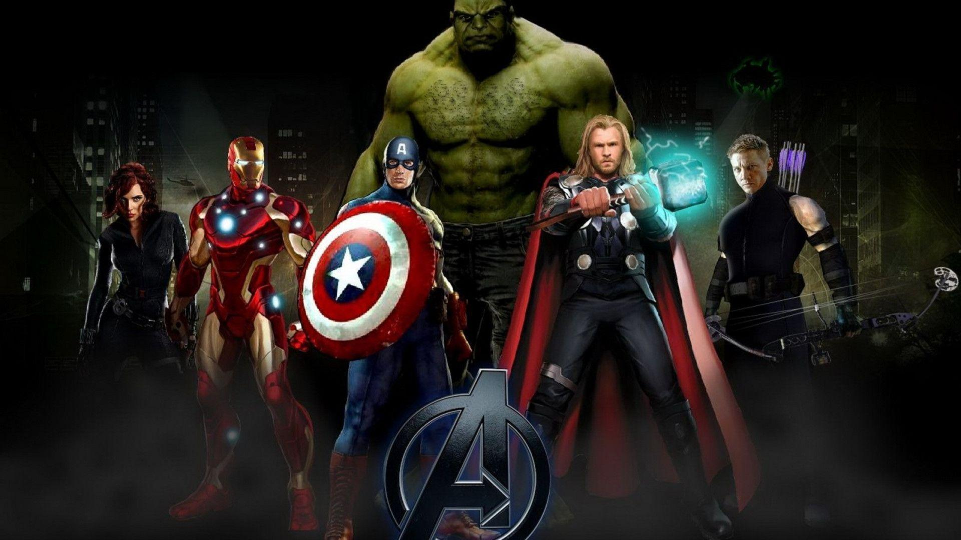 Wallpapers For > Avengers Wallpaper Hd 1920x1080
