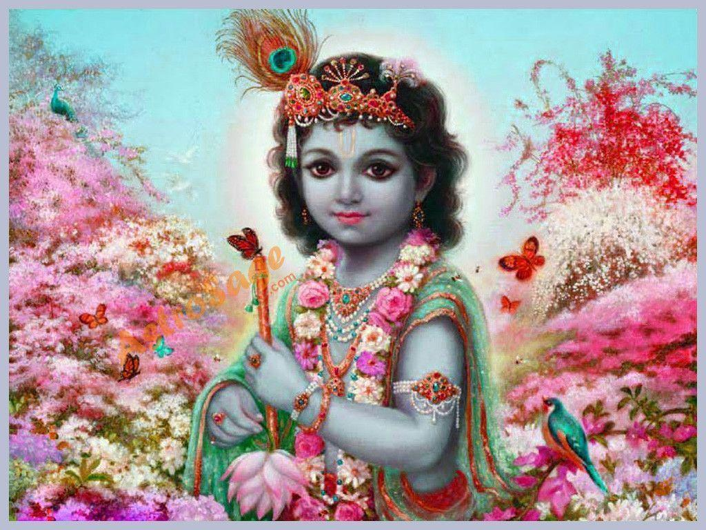 Krishna Wallpaper | Wallpaper of Krishna