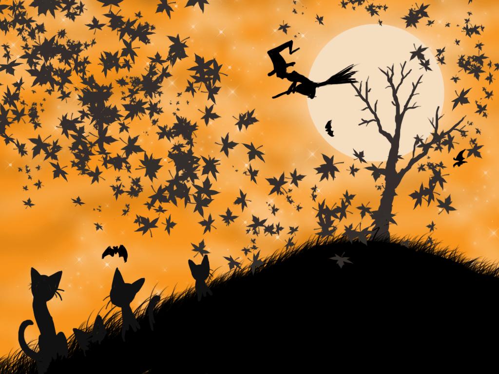 Halloween backgrounds wallpaper cave - Free widescreen halloween wallpaper ...