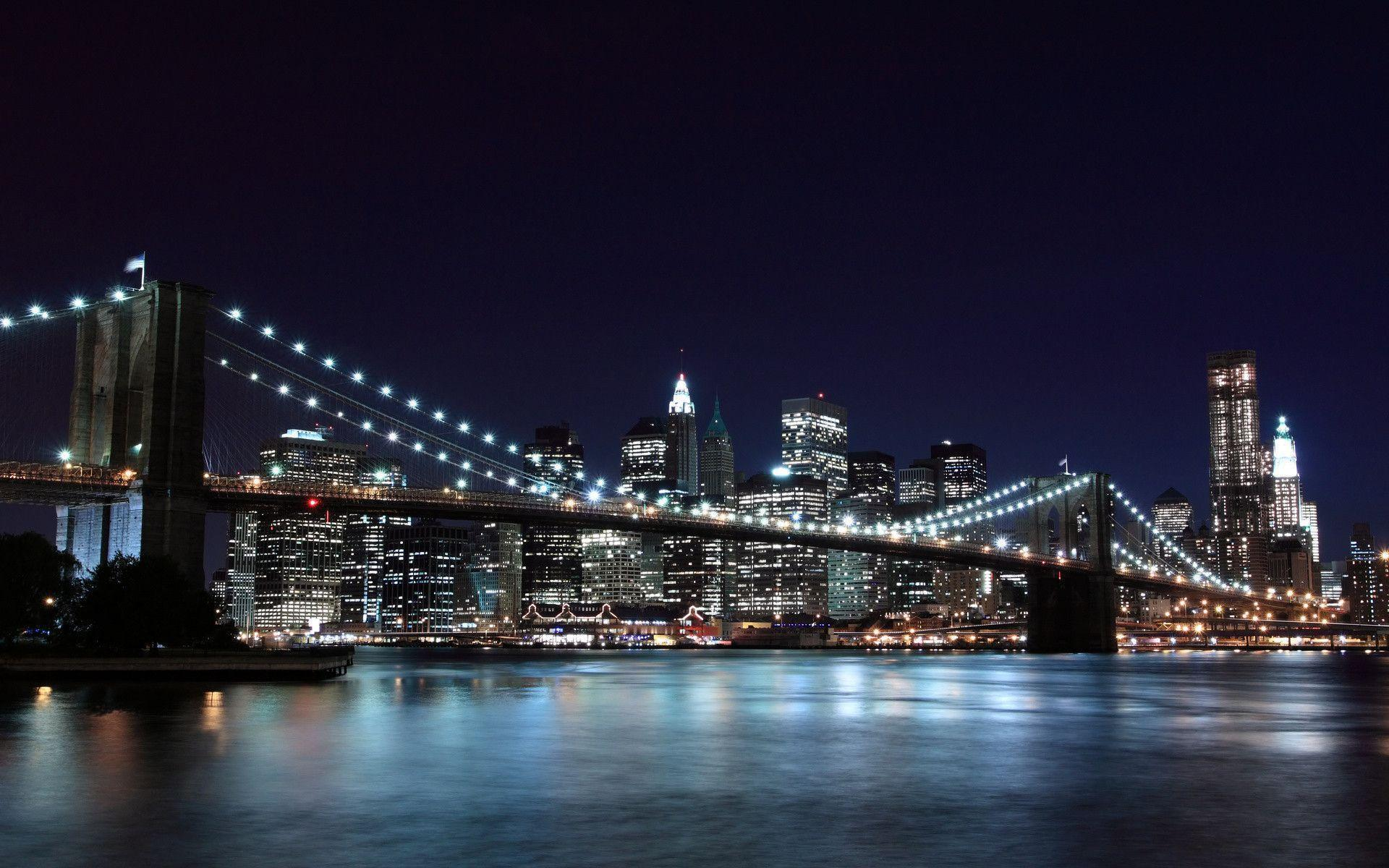 Brooklyn bridge wallpapers wallpaper cave for Sfondi desktop new york