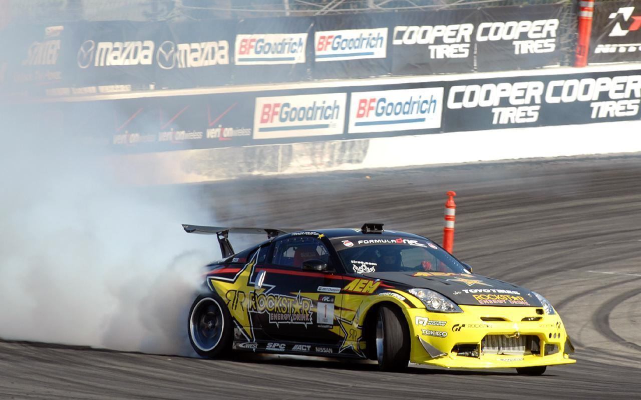Drift car Wide 1280x800