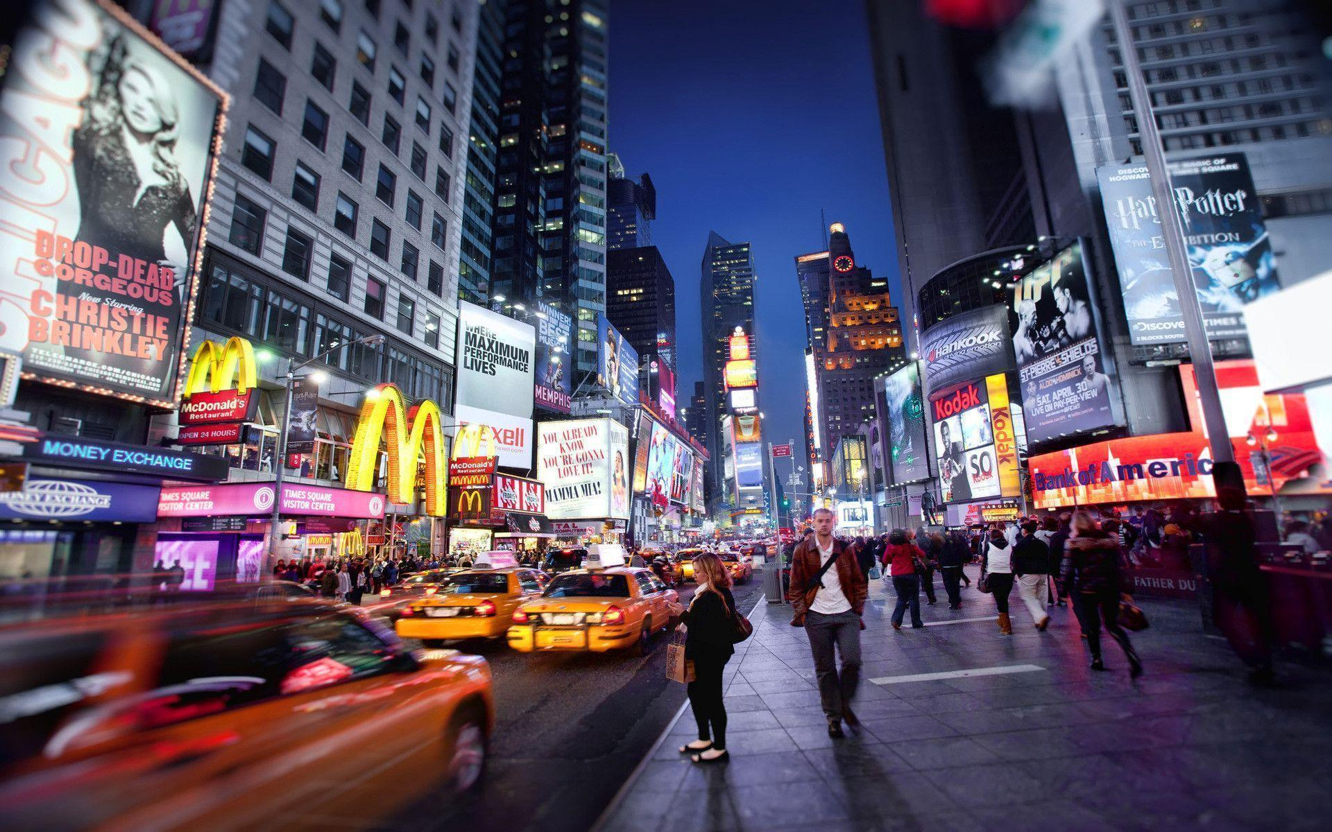 Awesome Times Square wallpapers