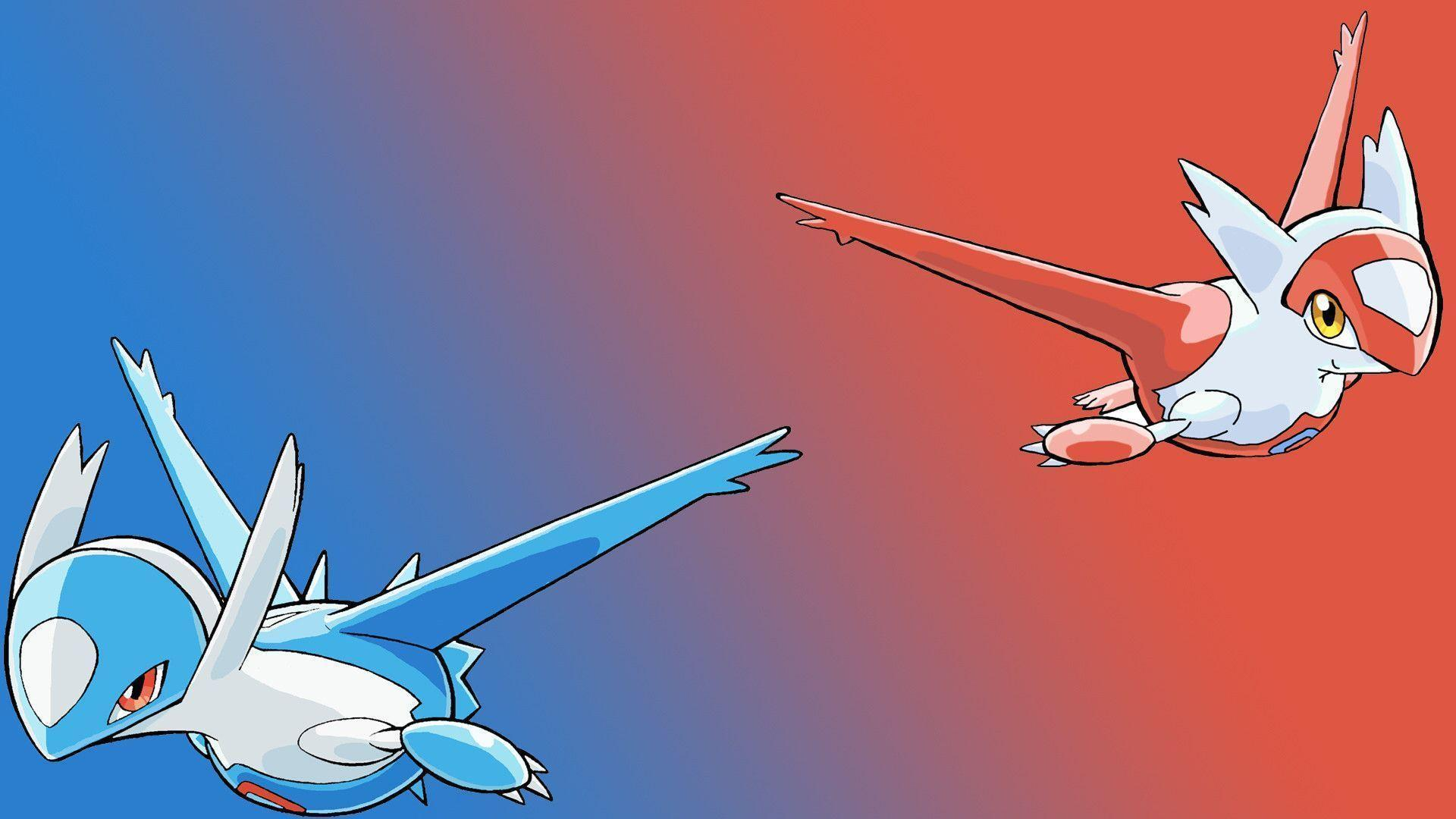 Pix For > Latias And Latios Wallpaper
