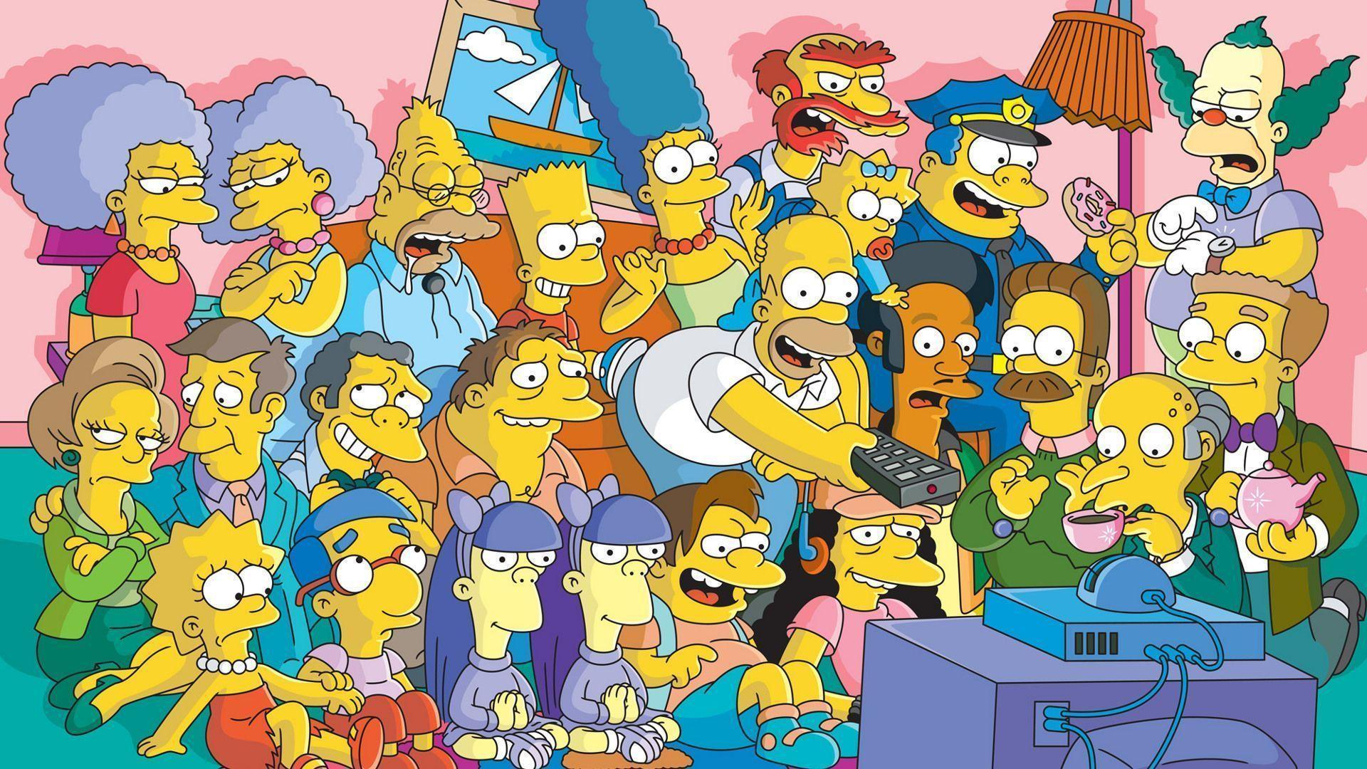 the-simpsons-tv-series-cast-wallpaper-109911 - HelloGiggles