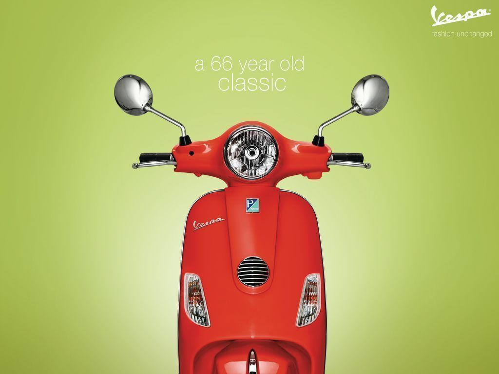 VESPA SCOOTER WALLPAPER - SCOOTERS