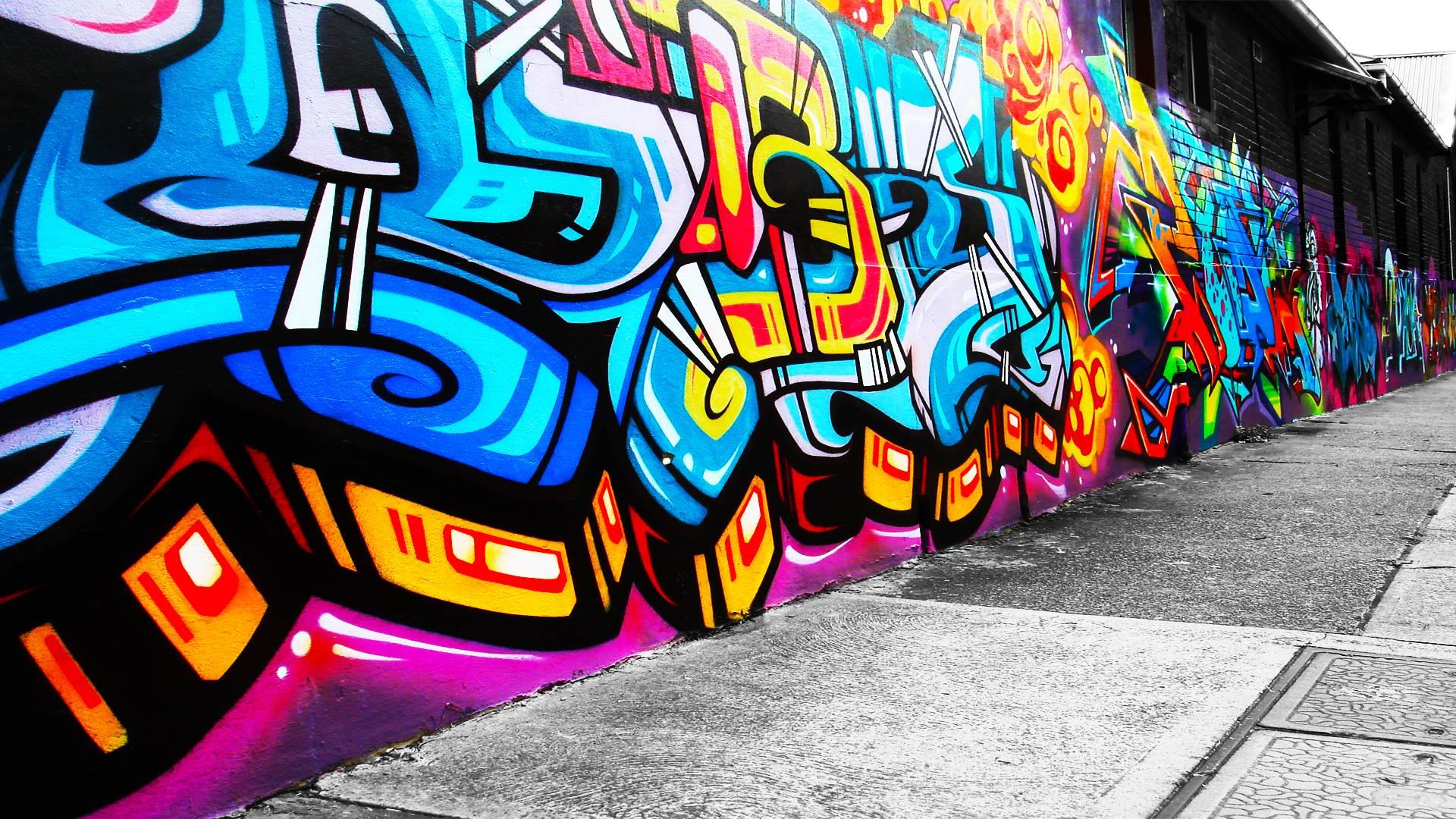 Graffiti Wallpapers Desktop 3D - Wallpaper Cave