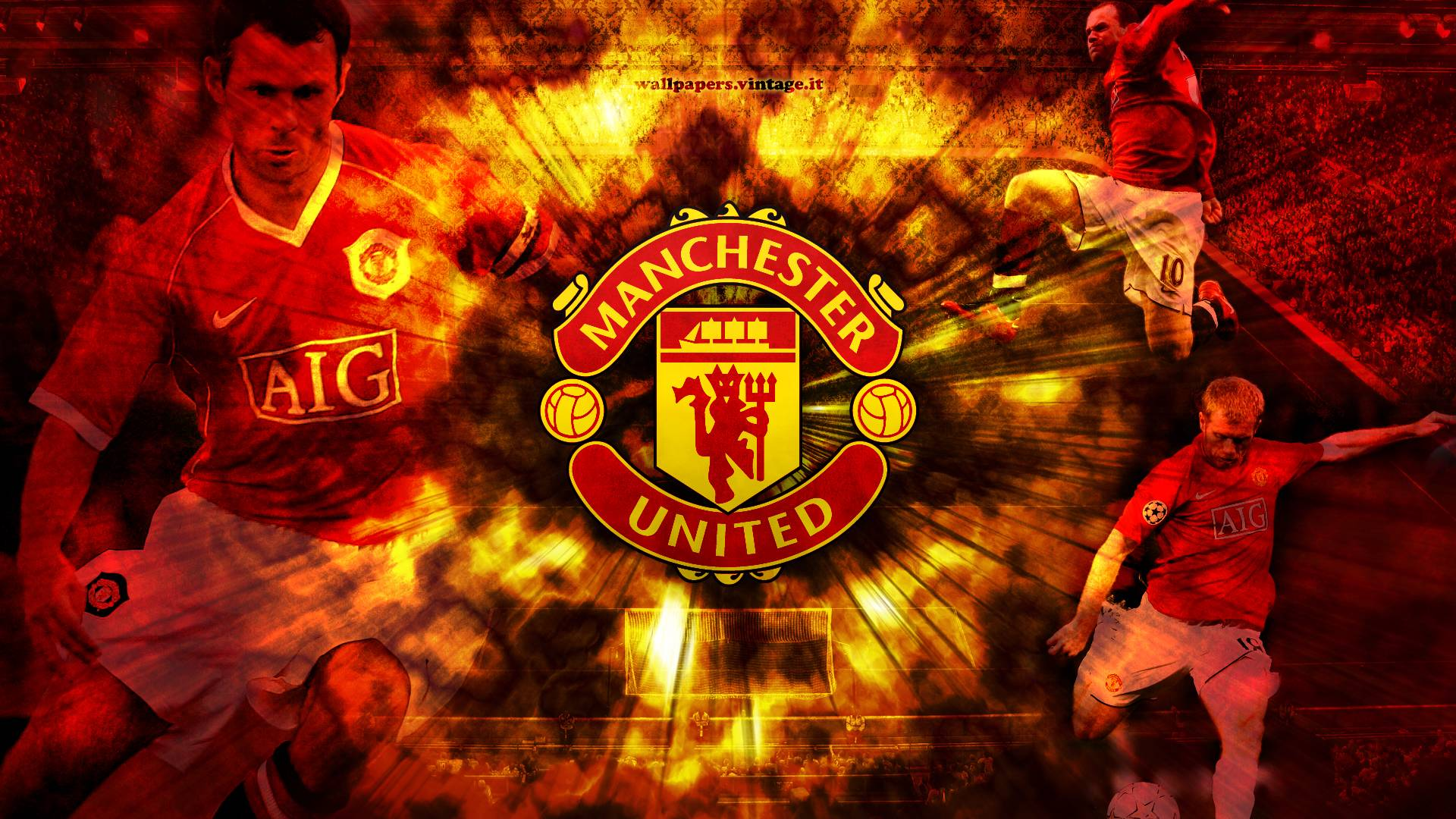 Manchester United FC HD Wallpapers & Logo Backgrounds
