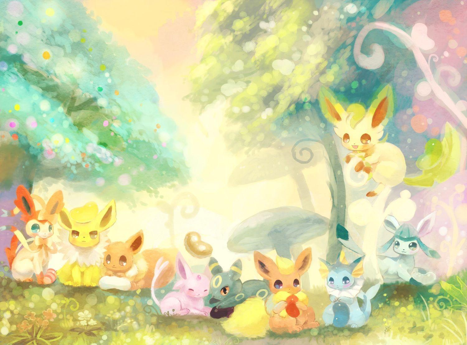 eeveelutions wallpaper - photo #47