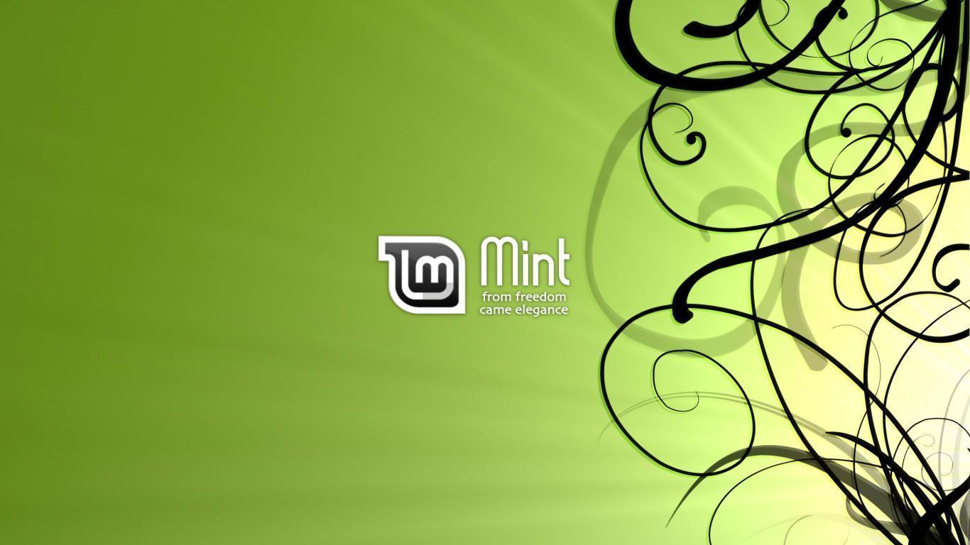 linux mint how to change wall paper