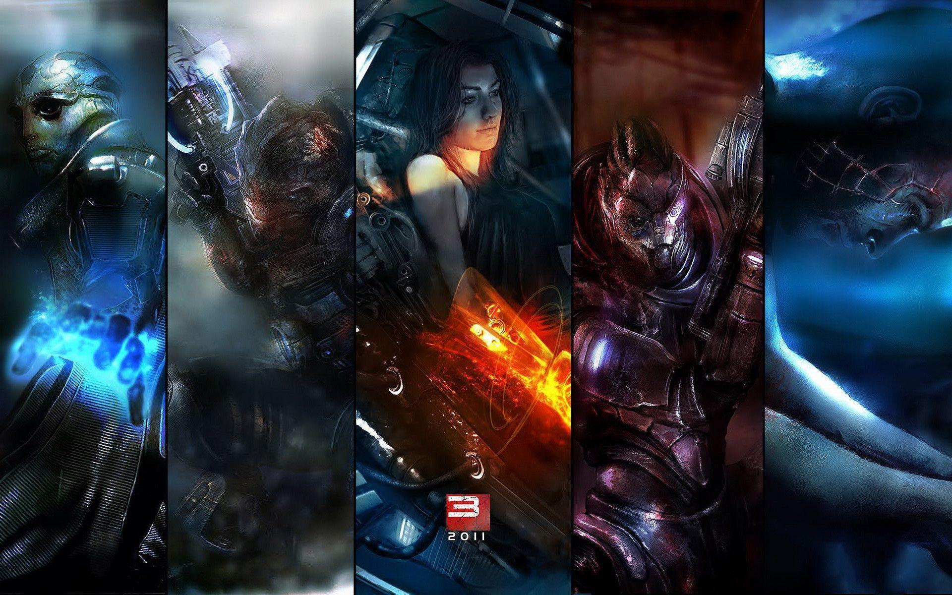 Mass Effect Desktop Backgrounds: Mass Effect Desktop Wallpapers