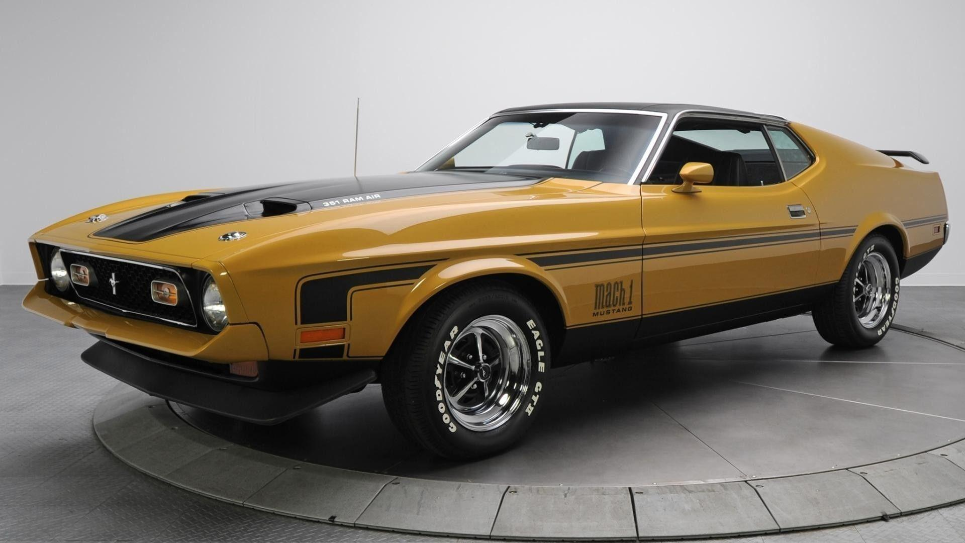 Muscle Cars Wallpapers High Resolution - 148.2KB