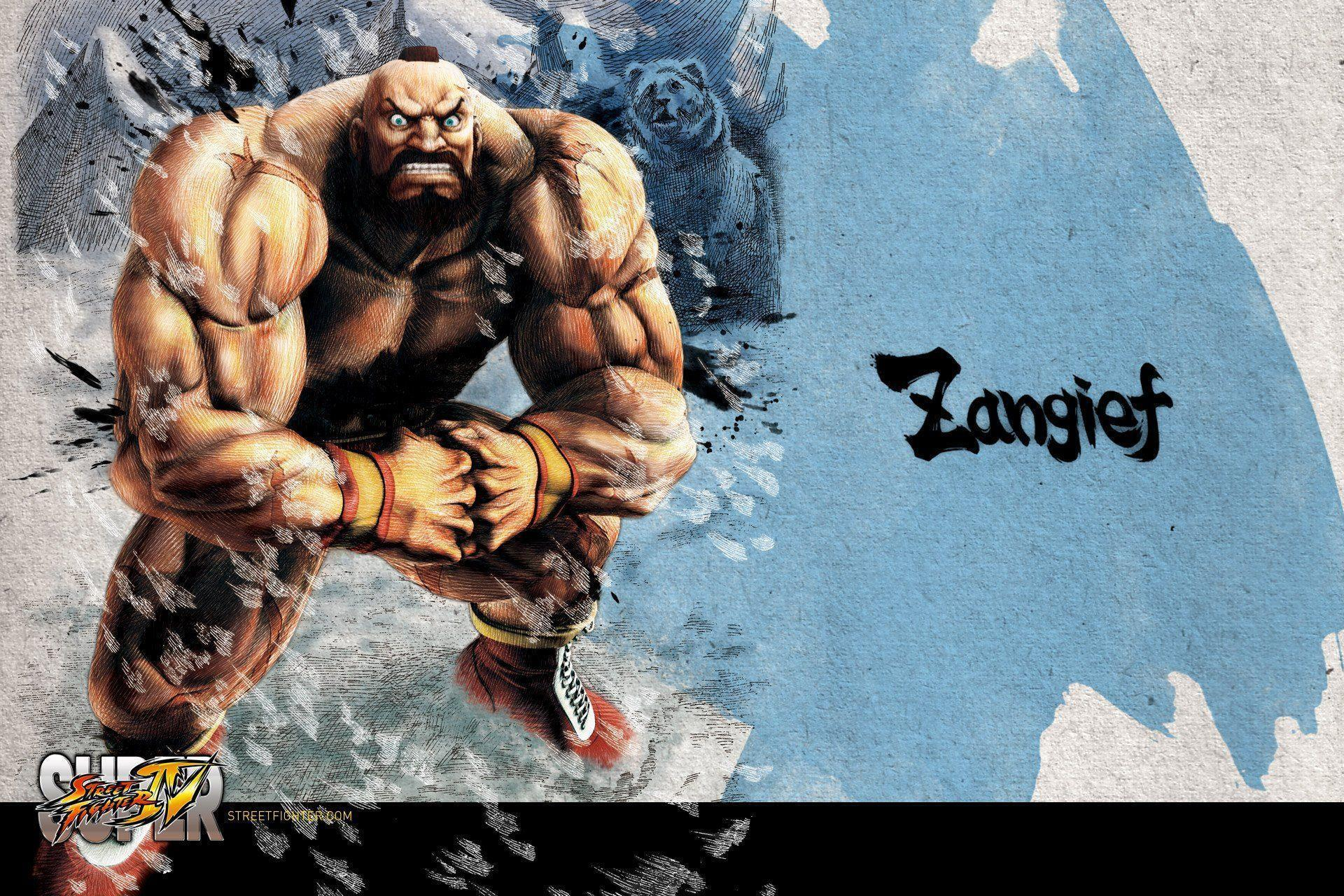 Street Fighter 4 Wallpapers: Super Street Fighter 4 Wallpapers