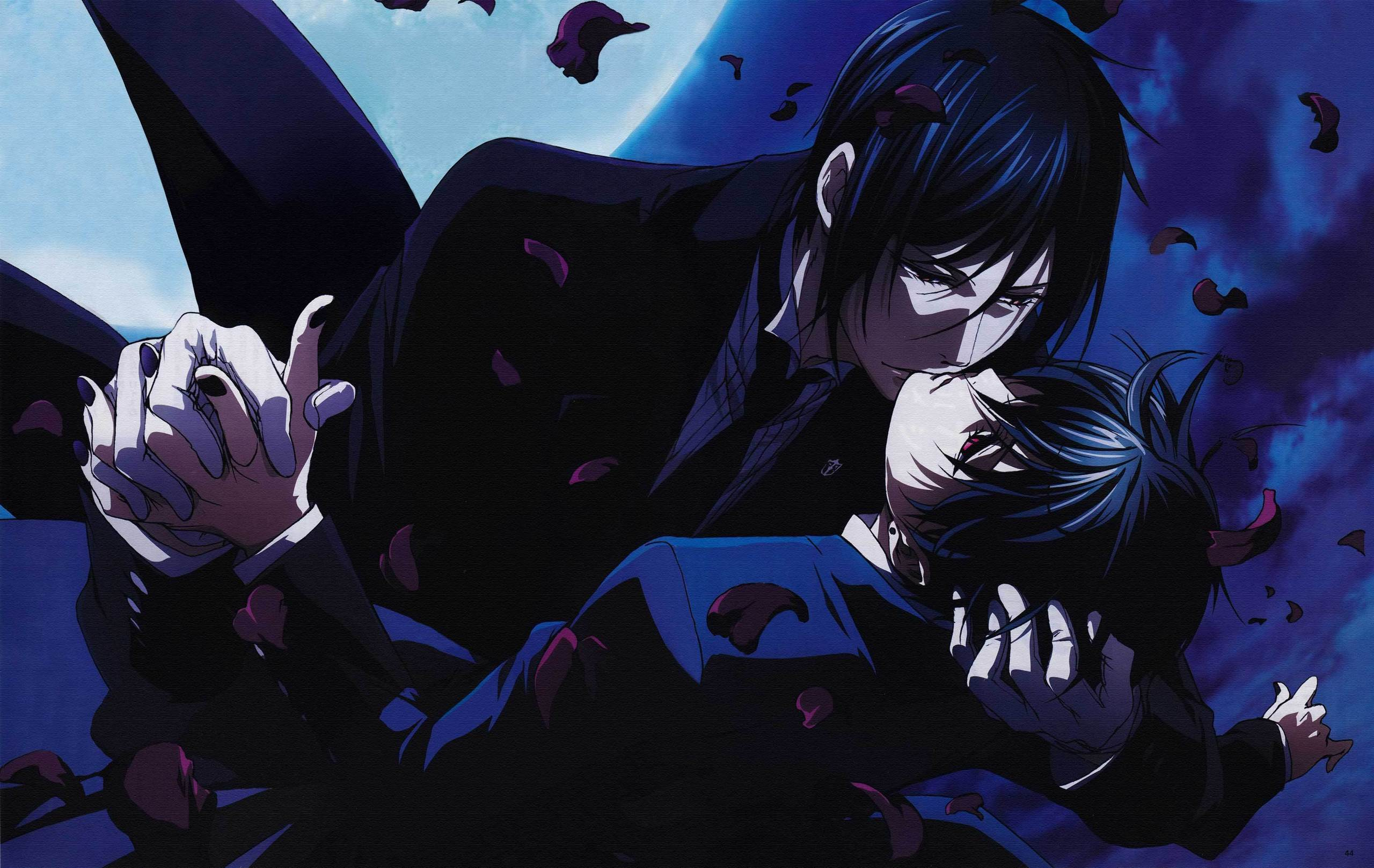 ciel and sebastian kiss - photo #18