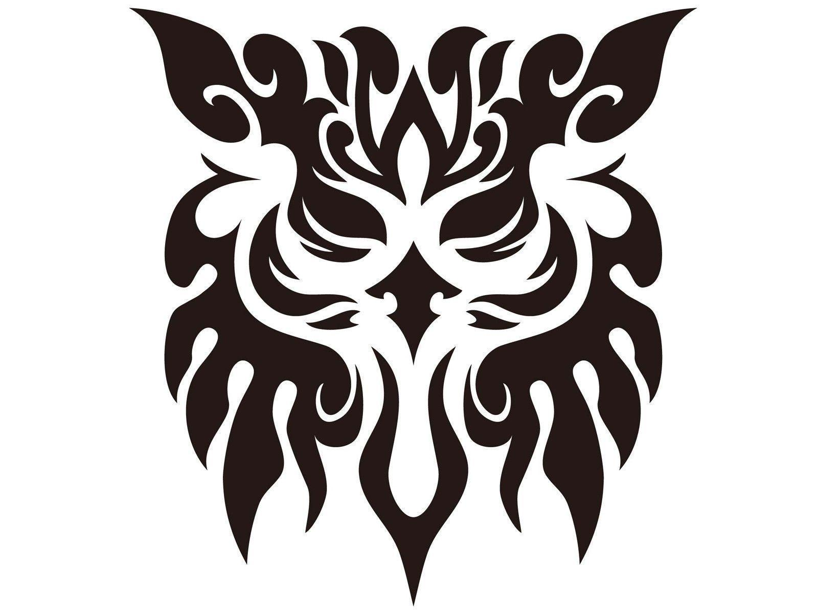 Owl Tribal Tattoo Design wallpapers