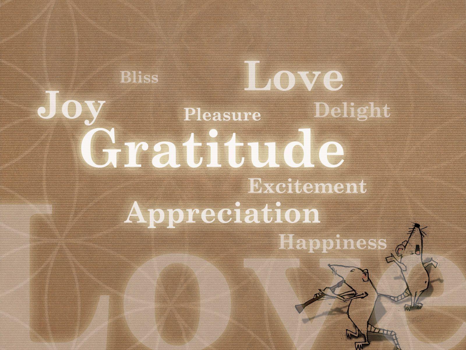 Gratitude Wallpapers Wallpaper Cave