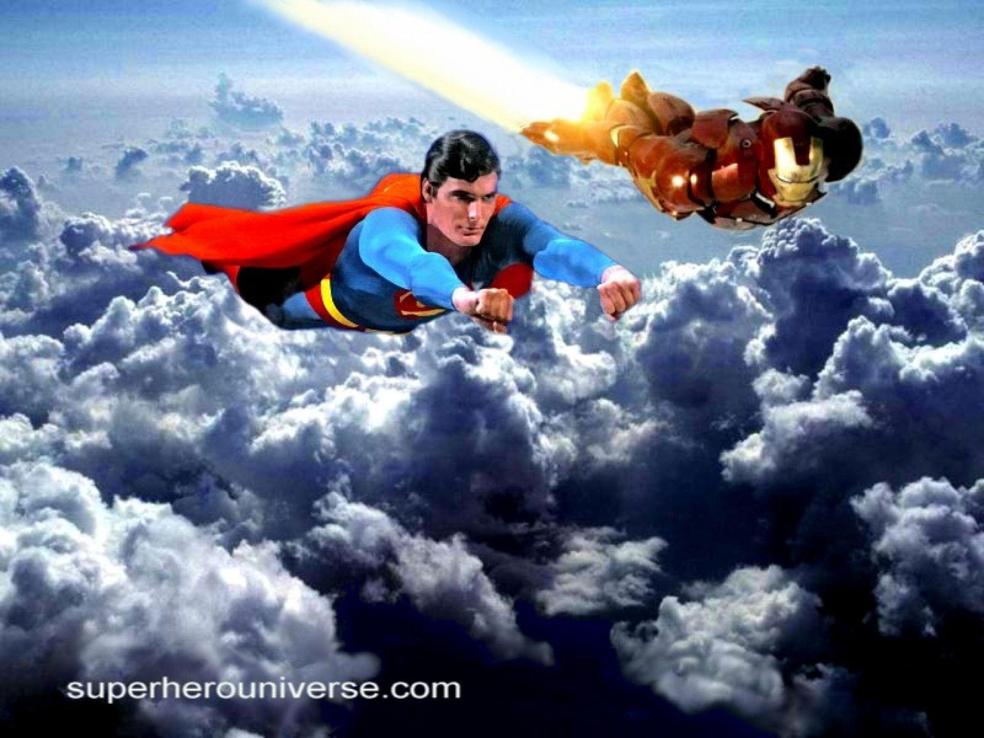 Marvellous Superman Ironman Wallpaper Click To View 1920x1440PX ...